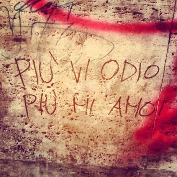 Scritte sui Muri Sono fatto così