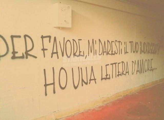 Scritte sui Muri Dichiarazione d'amore