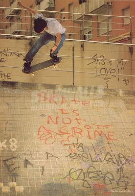 Scritte sui Muri Sk8 is my love