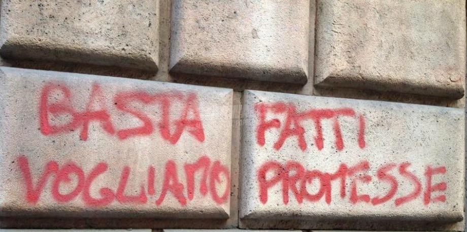 Scritte sui Muri La Svolta buona