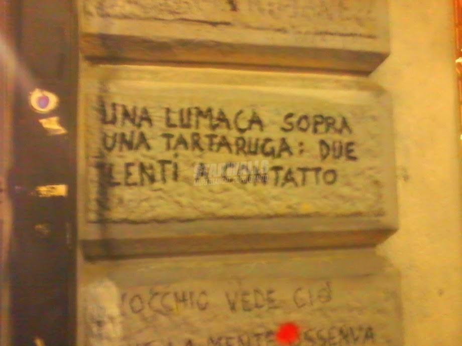 Scritte sui Muri Che coppia