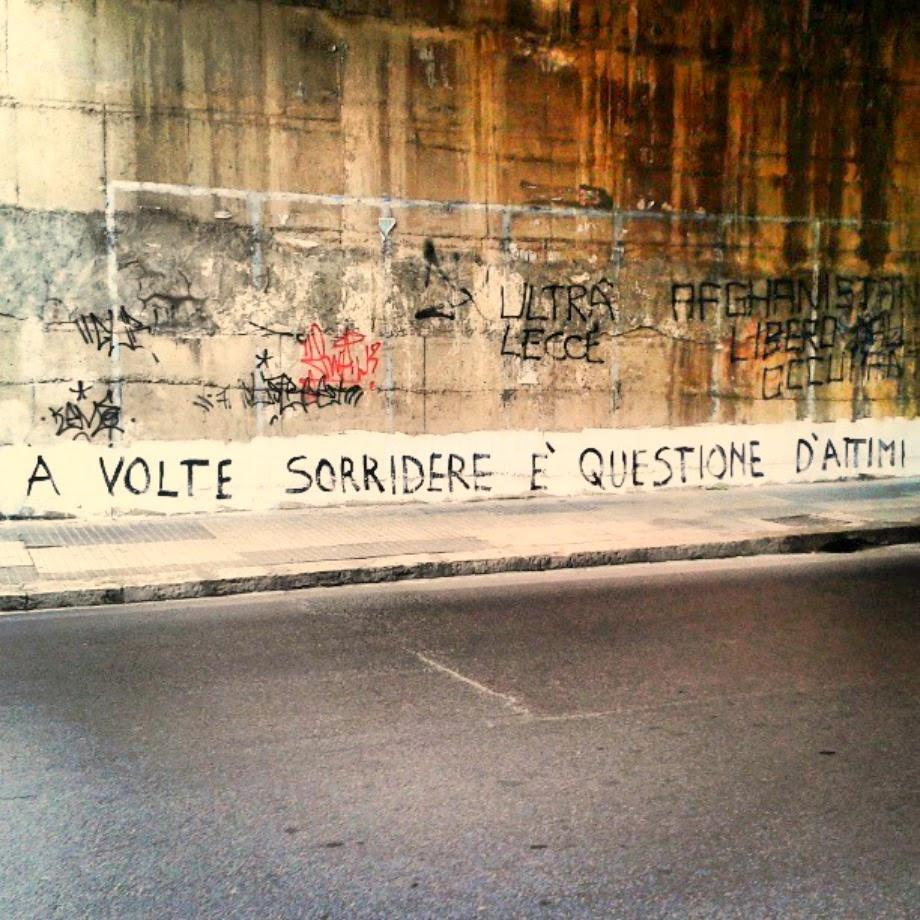Scritte sui Muri Istanti