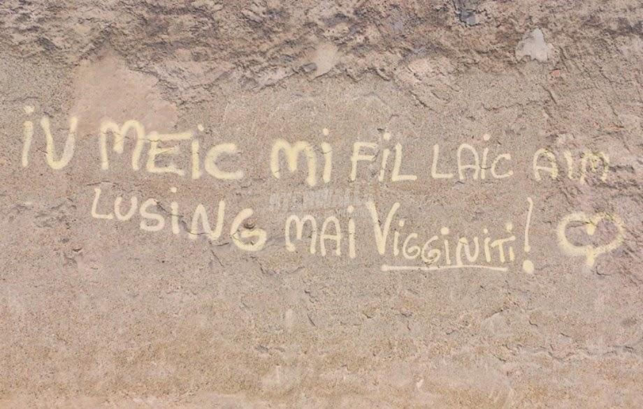 Scritte sui Muri Italian lovers