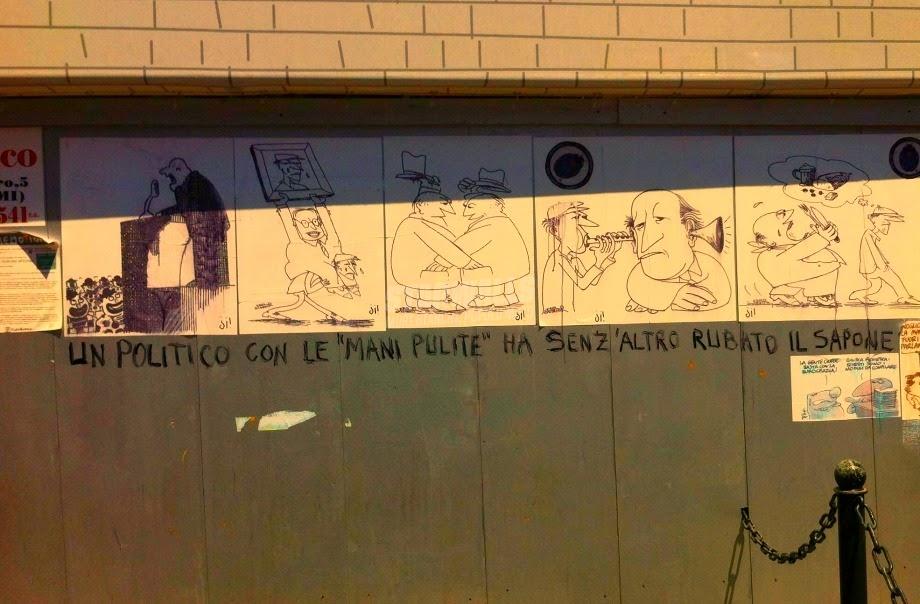 Scritte sui Muri La storia si ripete