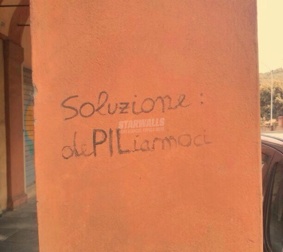 Scritte sui Muri La trovata