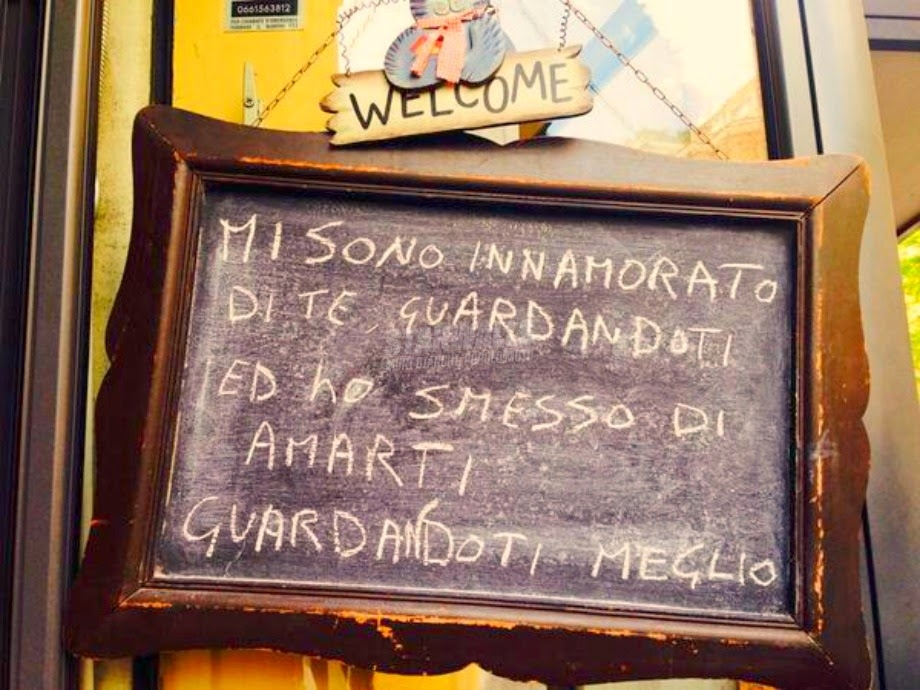 Scritte sui Muri Messa a fuoco