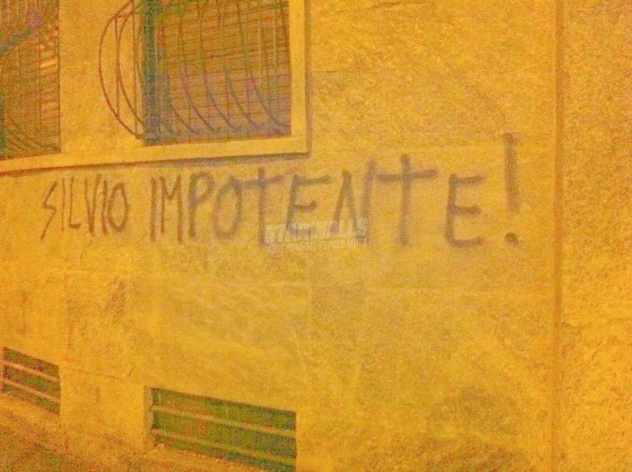 Scritte sui Muri Non ce la fa ...