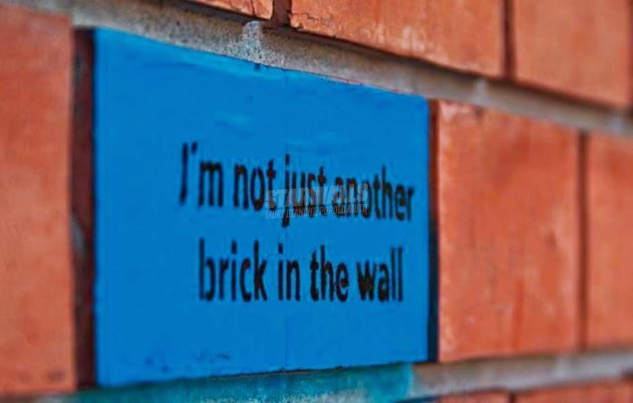 Scritte sui Muri Non uno qualunque