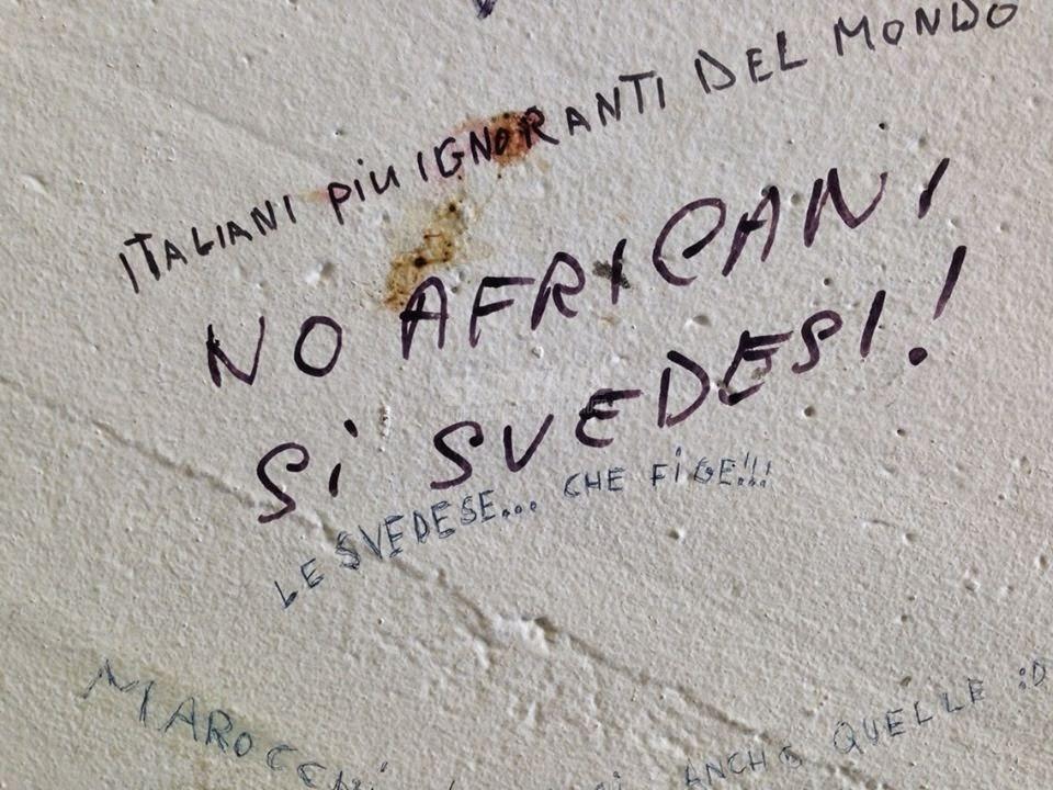 Scritte sui Muri Non generalizziamo