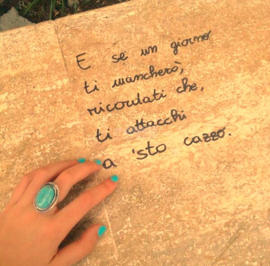 Scritte sui Muri Nostalgia canaglia cap. III