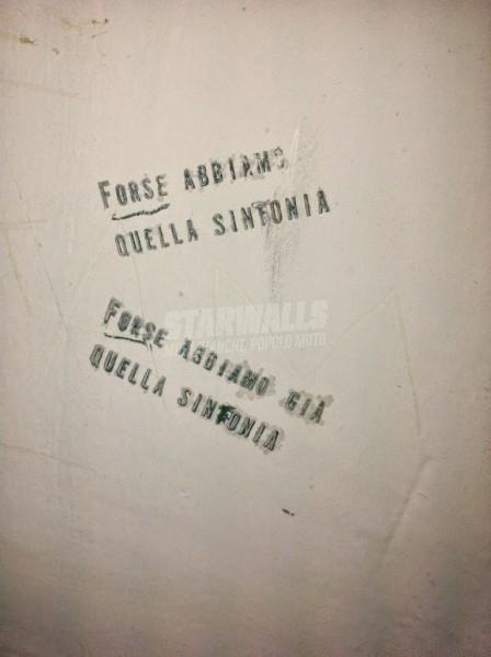 Scritte sui Muri Probabile feeling musicale