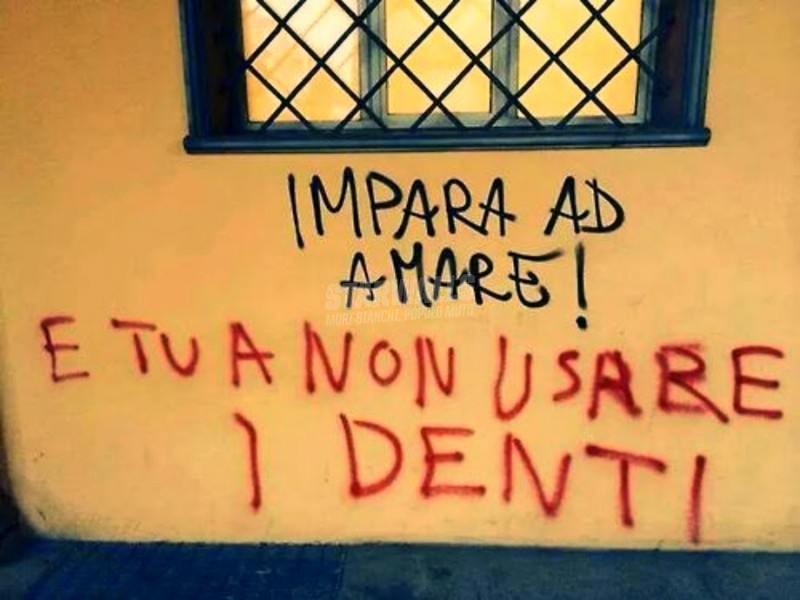 Scritte sui Muri Scambio legittimo di richieste