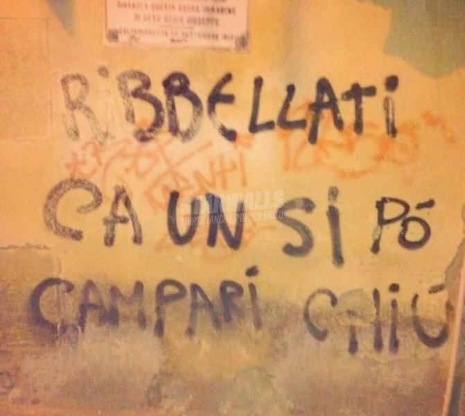 Scritte sui Muri Sicilian riot