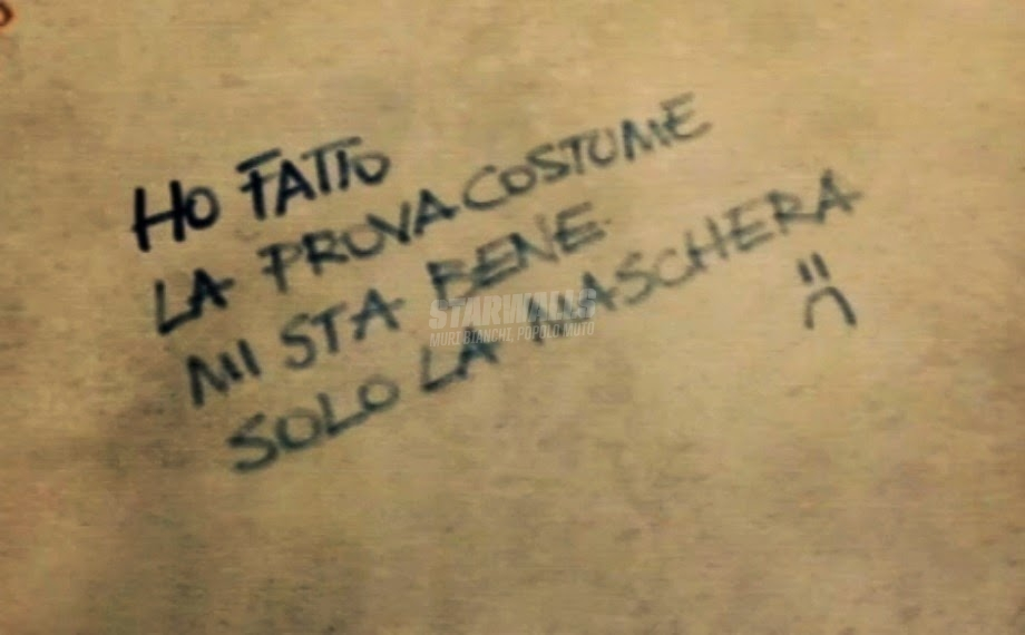 Scritte sui Muri Tutti al mare