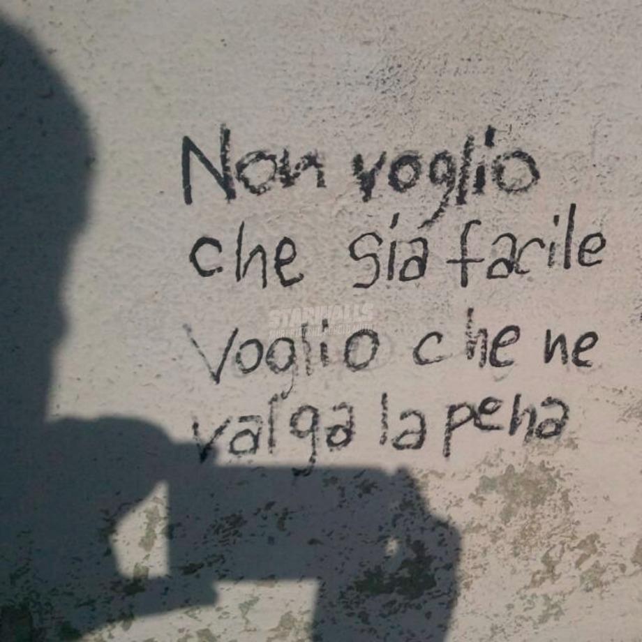 Scritte sui Muri Voglio