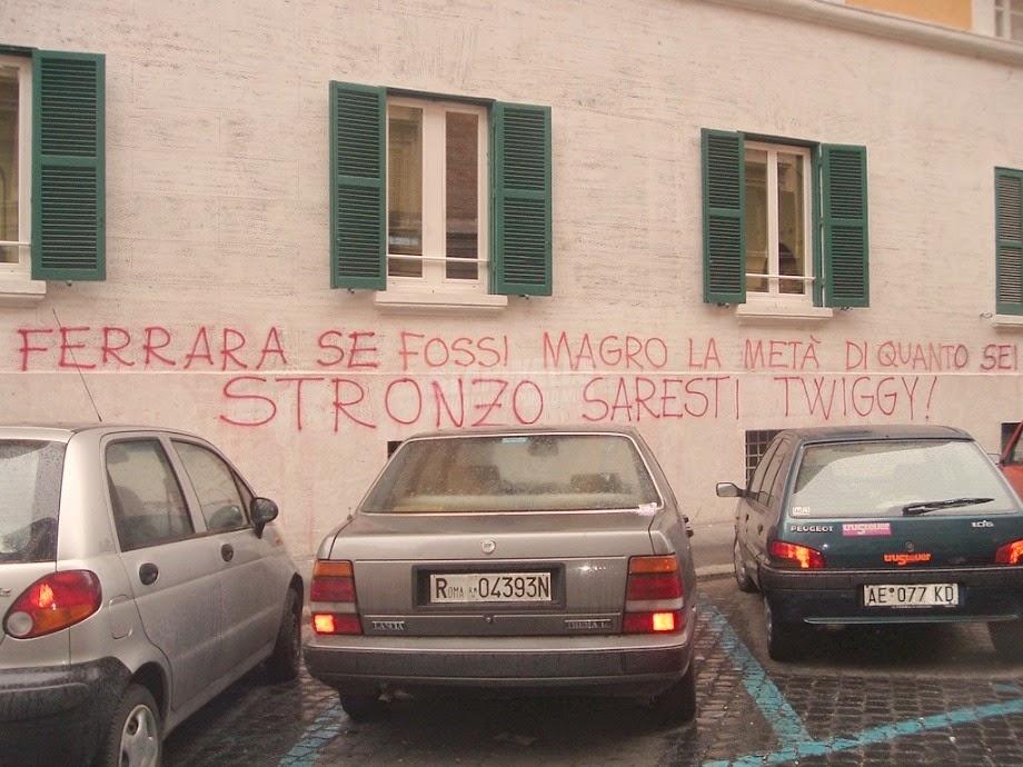 Scritte sui Muri Teocon