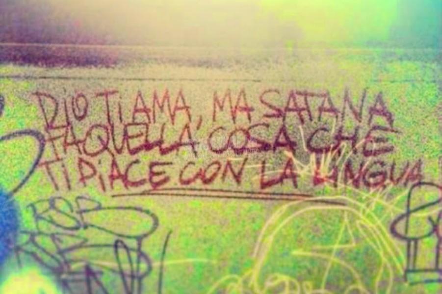 Scritte sui Muri Diabolico