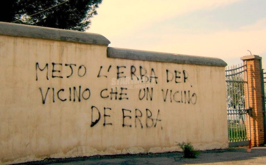 Scritte sui Muri E' sempre più verde