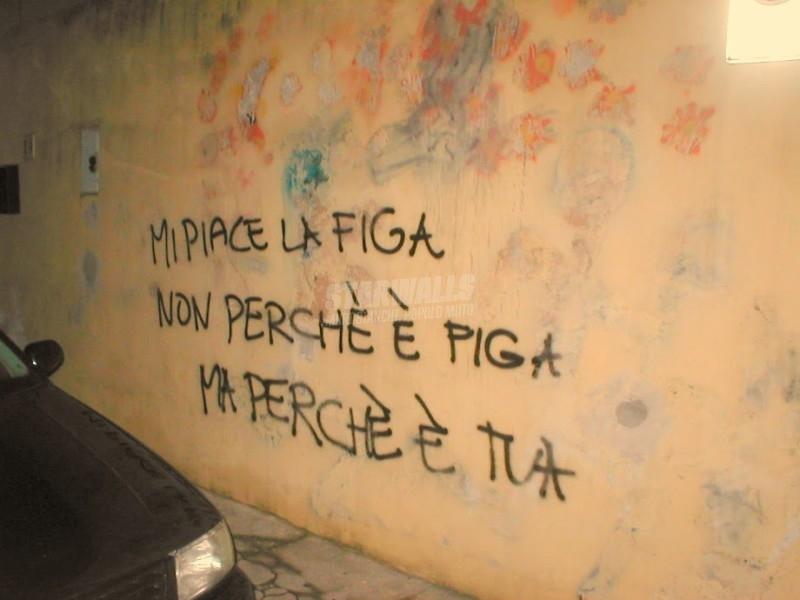 Scritte sui Muri Giusto per essere chiari