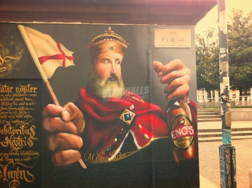 Scritte sui Muri La Milano da bere