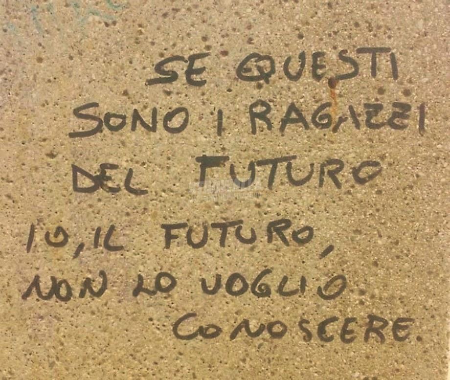 Scritte sui Muri Nuove leve