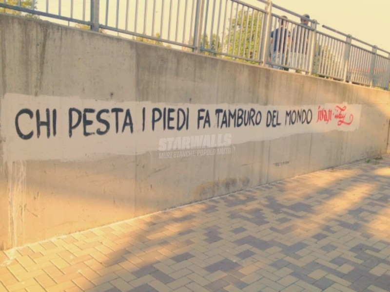 Scritte sui Muri Poesia di strada