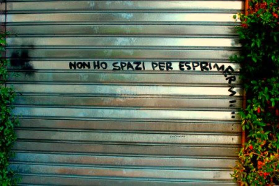 Scritte sui Muri Sacrificato