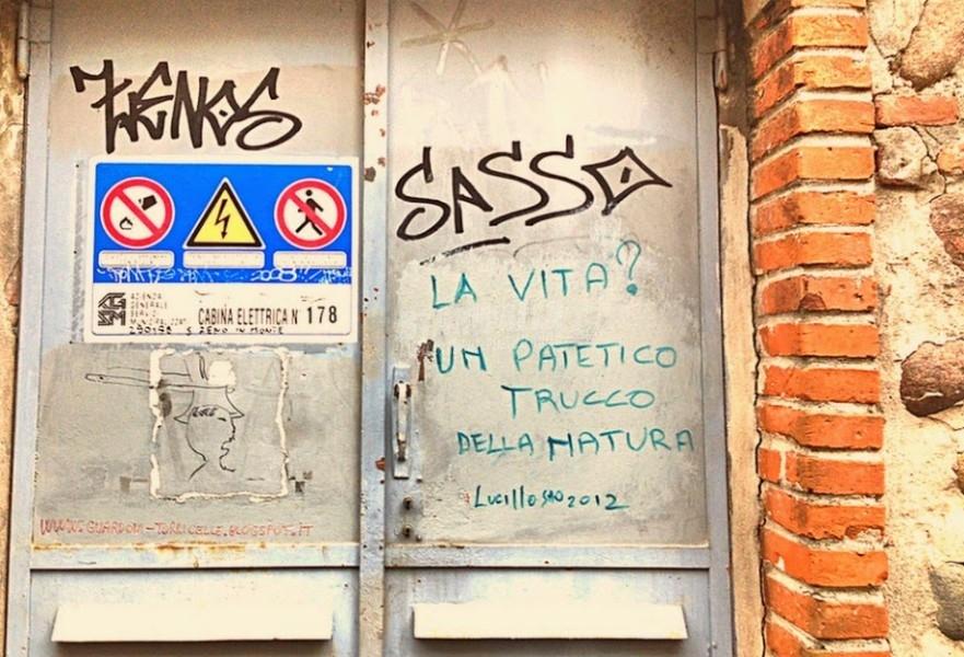 Scritte sui Muri Tranello