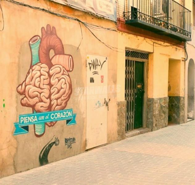 Scritte sui Muri ... y siente con la cabeza