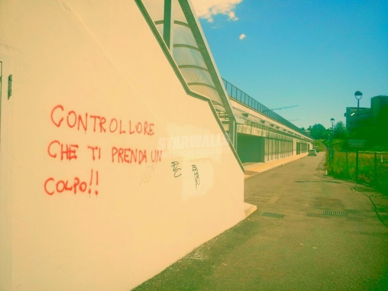 Scritte sui Muri Accidenti a te !