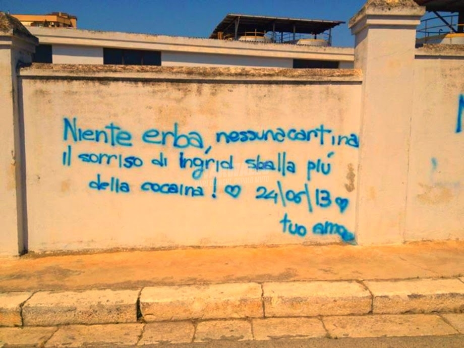Scritte sui Muri Amore senza additivi
