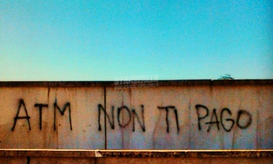Scritte sui Muri E me ne frego