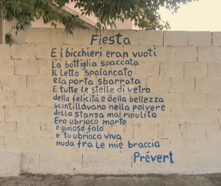 Scritte sui Muri Fiesta