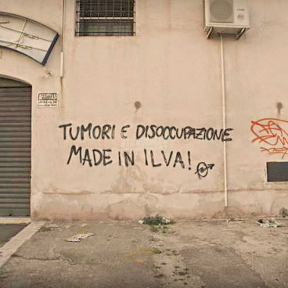 Scritte sui Muri Taranto 2014