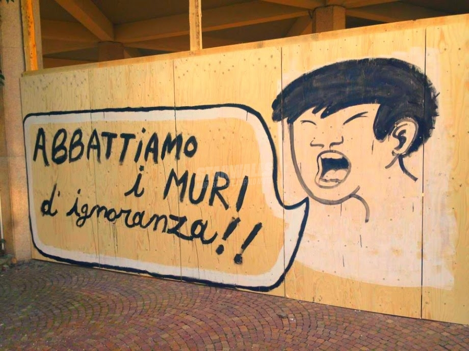 Scritte sui Muri ZTL Wake Up!