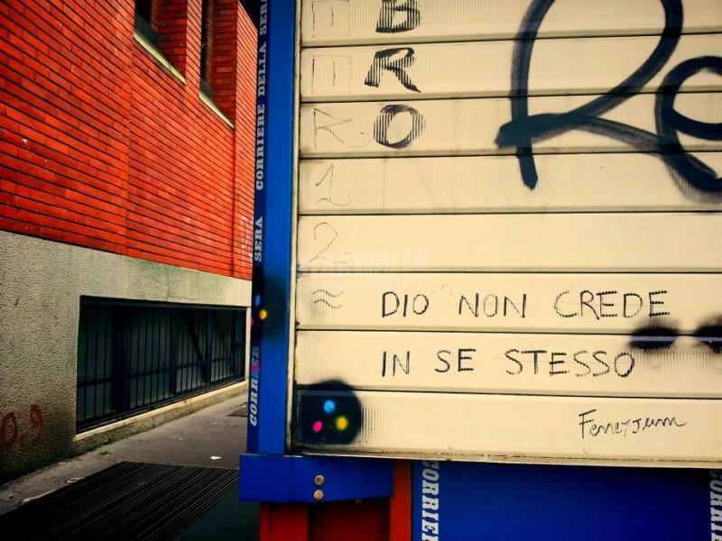 Scritte sui Muri Senza autostima
