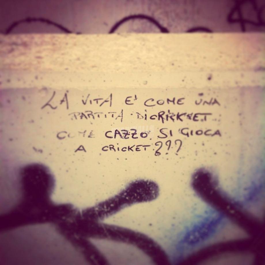 Scritte sui Muri Così è la vita