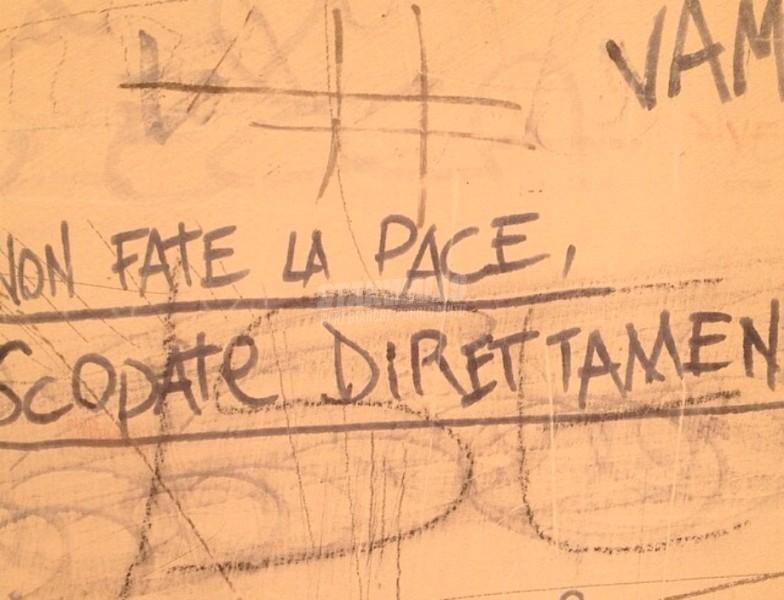 Scritte sui Muri Saltare i preamboli