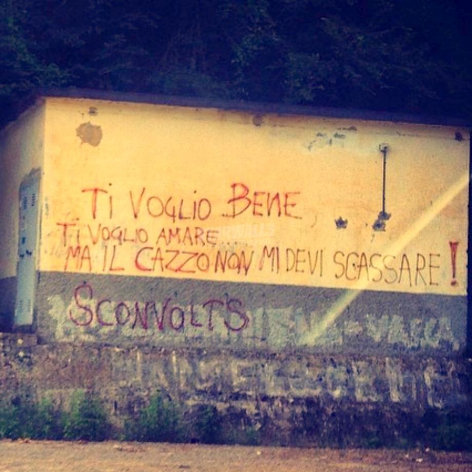 Scritte sui Muri Te lo dico in rima