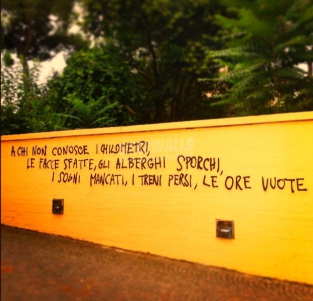 Scritte sui Muri C'eravamo tanto sbagliati