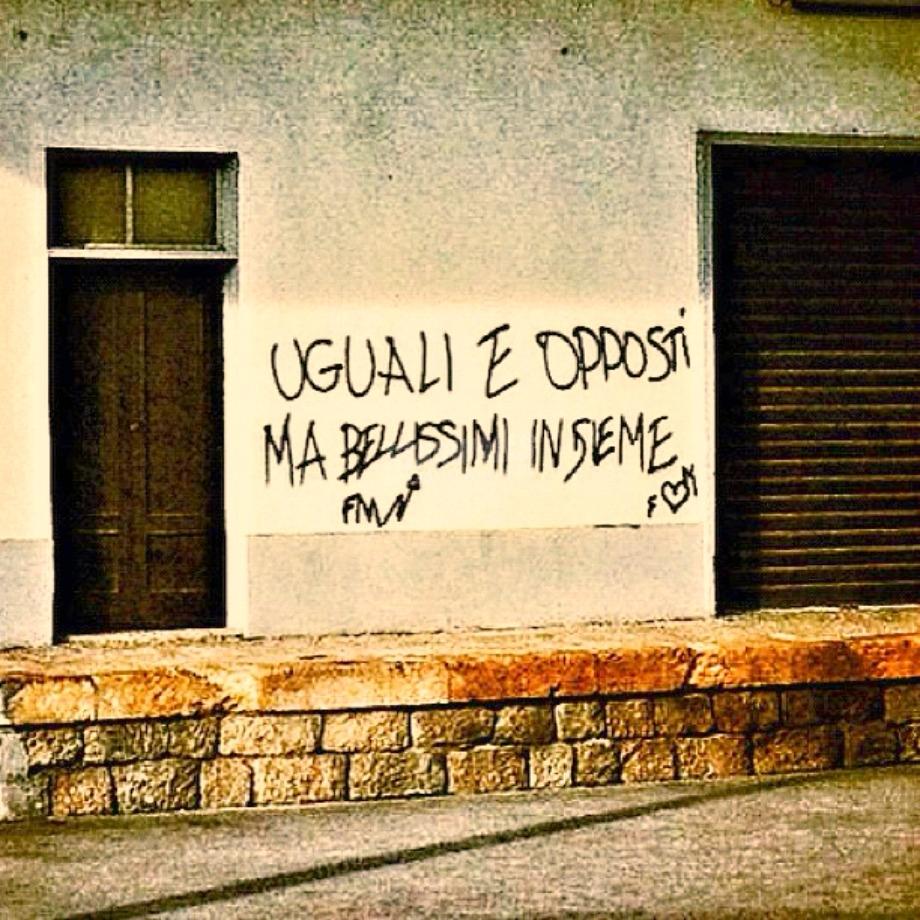 Scritte sui Muri Lovers
