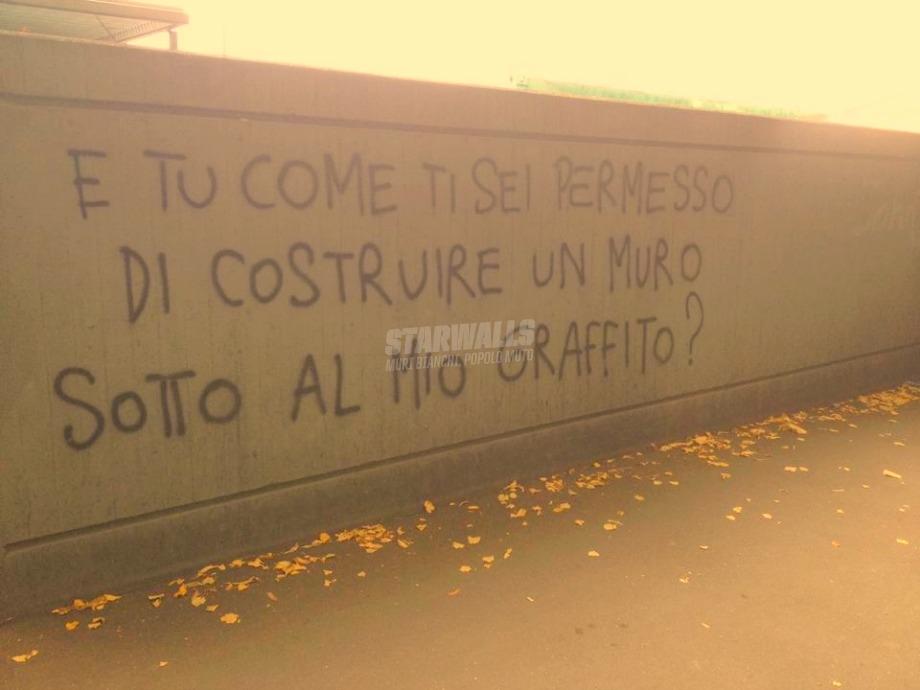 Scritte sui Muri Non si fa