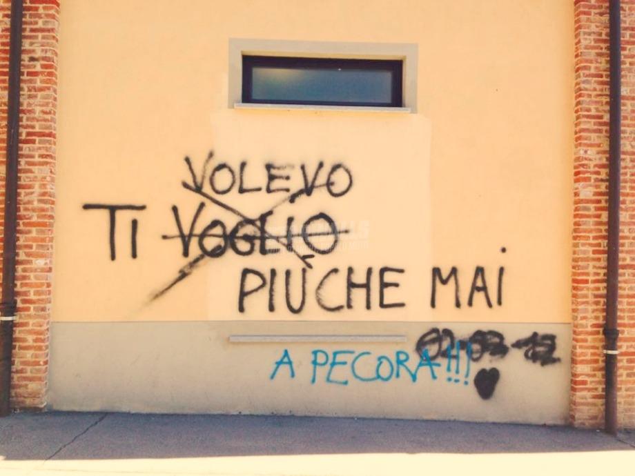 Scritte sui Muri Poi sei andata via