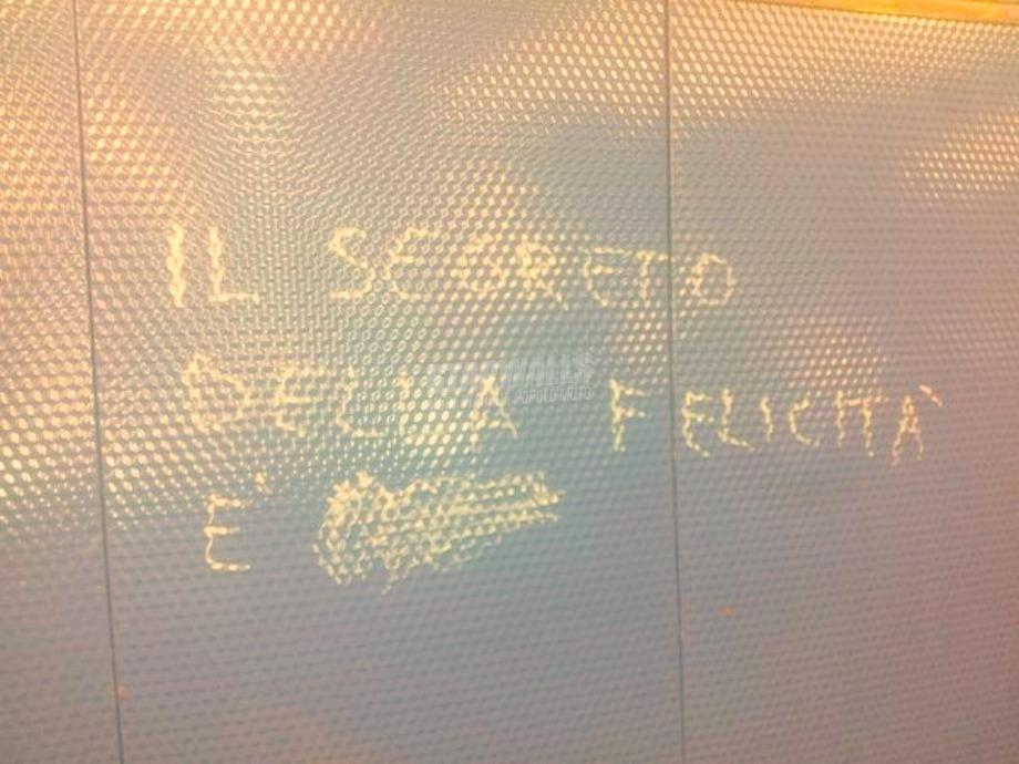 Scritte sui Muri Sarebbe?