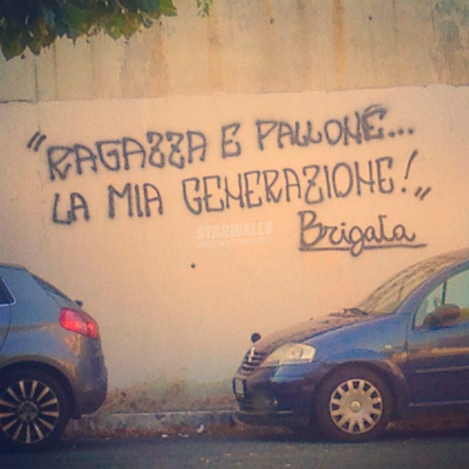 Scritte sui Muri The Old Generation