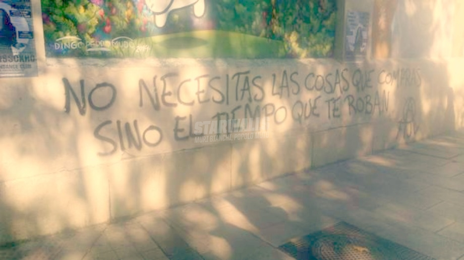 Scritte sui Muri Verdades made in Madrid
