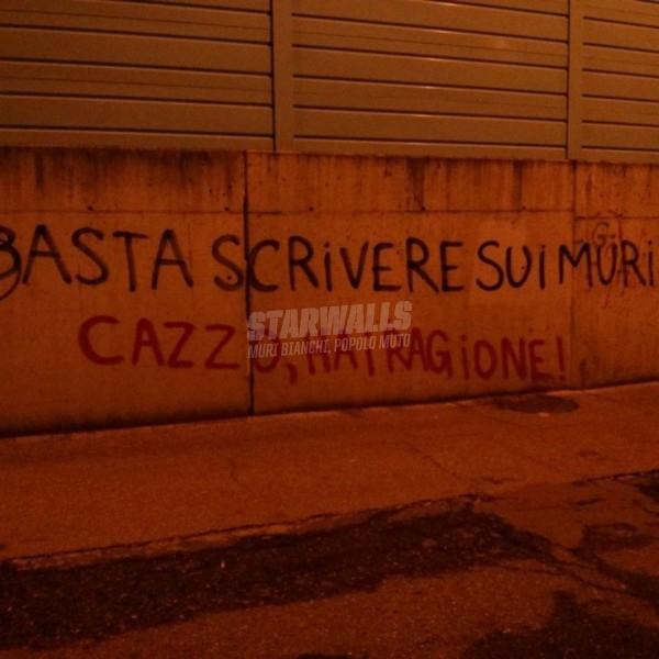 Scritte sui Muri Burloni