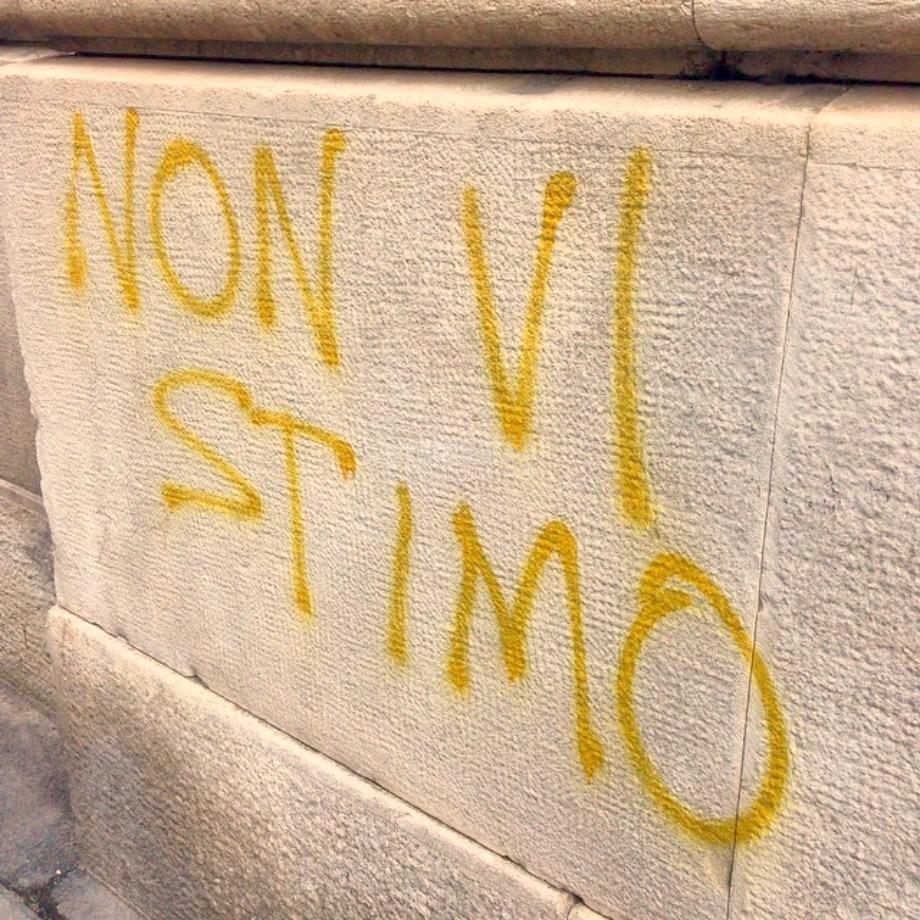 Scritte sui Muri Ce ne faremo una ragione?