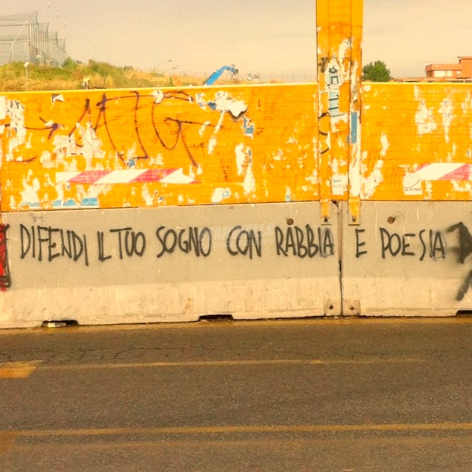 Scritte sui Muri Da chi non ci crede