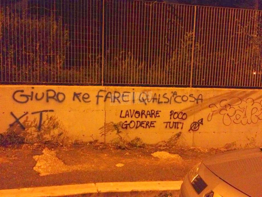 Scritte sui Muri Disgrafico